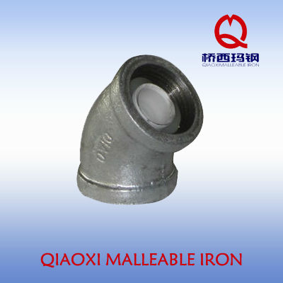 wholesale galvanized malleable iron pipe fittings casting pipe fittings