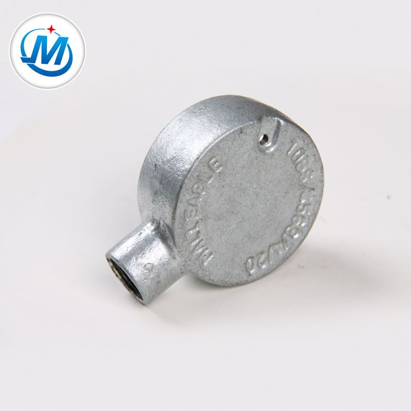 Passed ISO 9001 Test Joint Pipeline Malleable Iron Junction Box