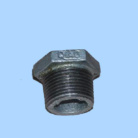 Discount Price O-ring Hose End Fitting - Hot Dipped Galvanized Casting Iron Pipe Fitting Hexagon Bushing pipe fitting – Jinmai Casting