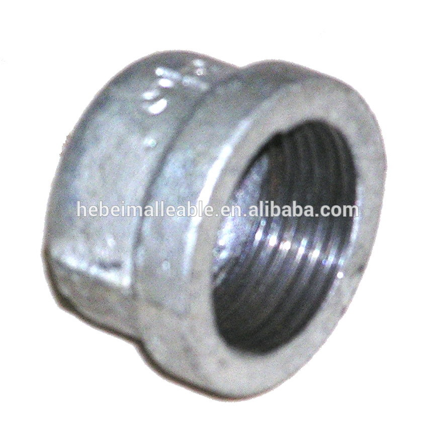 Online Exporter Pe Pipe Fitting - galvanized ductile iron water pipe compression bellmouth pipe fitting cap – Jinmai Casting
