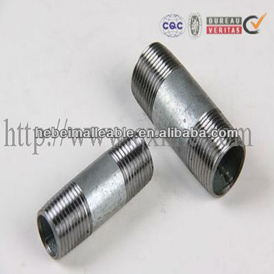 BS thread Steel pipe barrel nipple Accesorios de tuberias