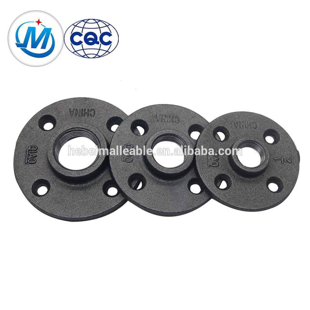 Europe style for Metal Pipe Fitting - 150# Malleable Iron Flange Galvanized – Jinmai Casting