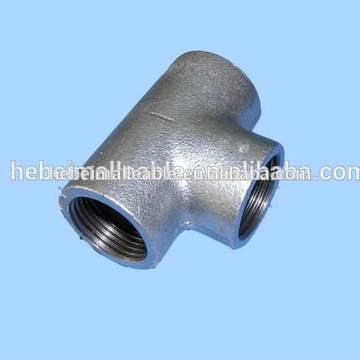 OEM/ODM Factory Stainless Steel Elbow Fittings Sus304 - china export gi malleable iron pipe fitting cast plain tee – Jinmai Casting