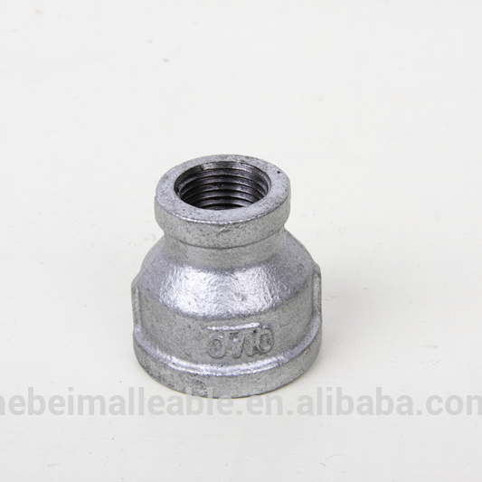 High reputation Titanium Processing Pipe Fittings - galvanized gi take off chart iron forged mallebale iron pipe fitting reducing socket – Jinmai Casting detail pictures