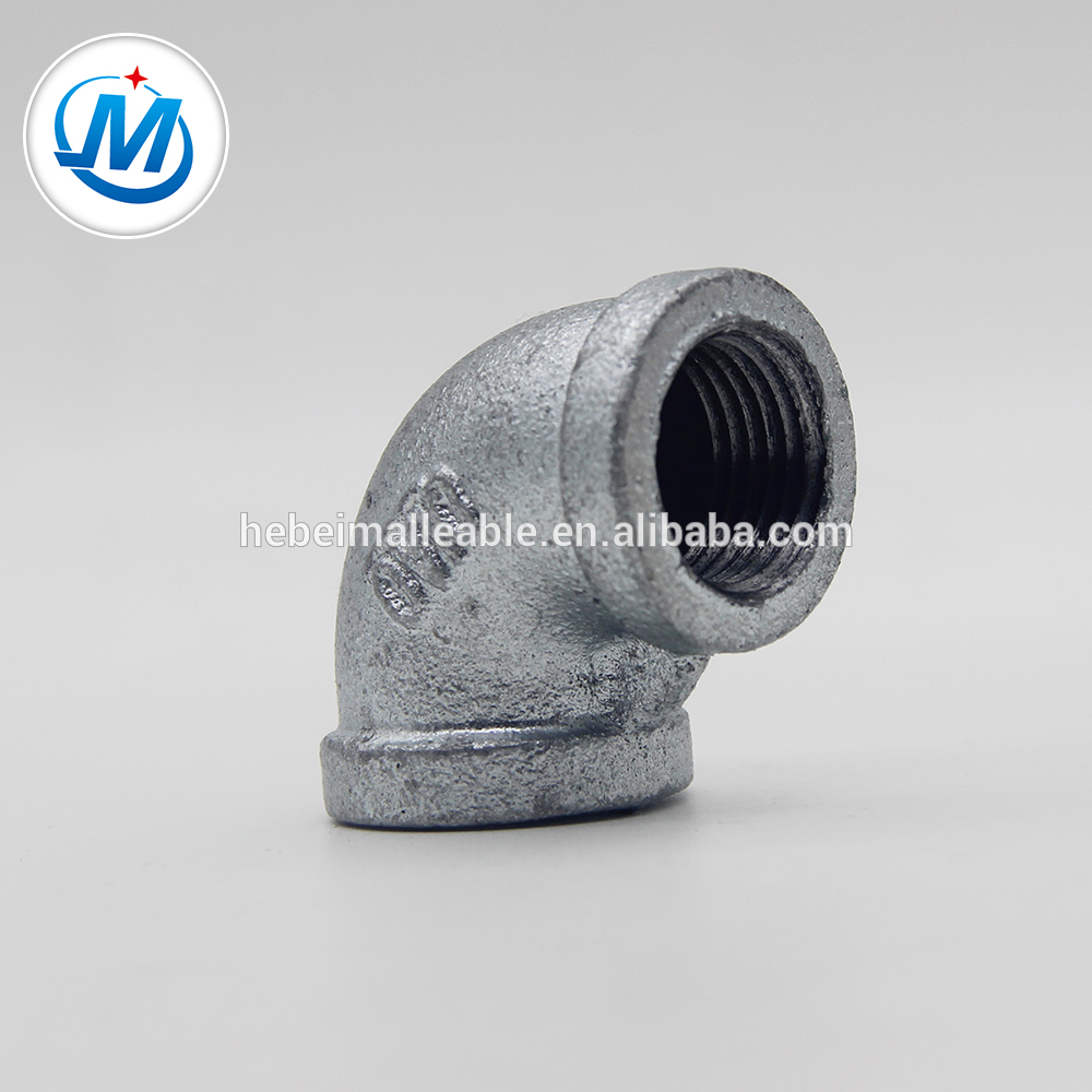 High definition Iron Pipe Bend - galvanized ANSI threading steel pipe fittings – Jinmai Casting