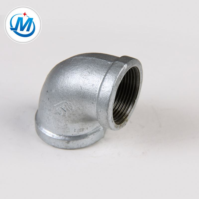 Wholesale Discount Hot Dip Galvanized Elbow - Top Quality Female Connection 90 Degree Hardware Elbows Pipe – Jinmai Casting