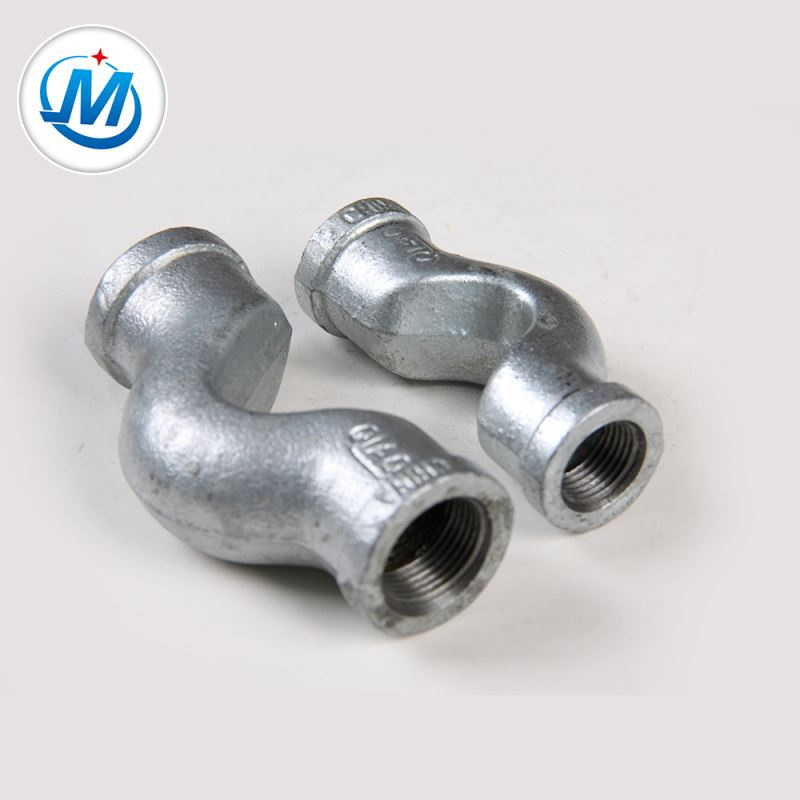 Female Connection Galvanized Malleable Iron Crossovers