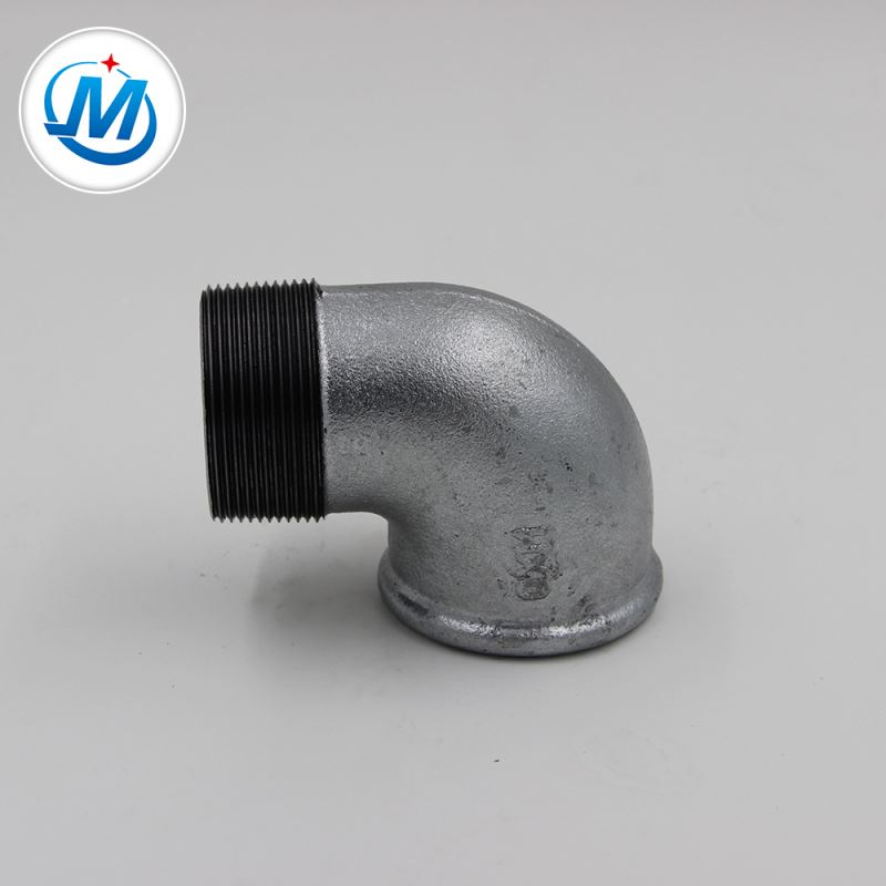 factory low price 10mm Compression Fitting - Carring Out the Contract Seriously 1/2 -4 Inch Dimensions Black Surface Street Elbow – Jinmai Casting