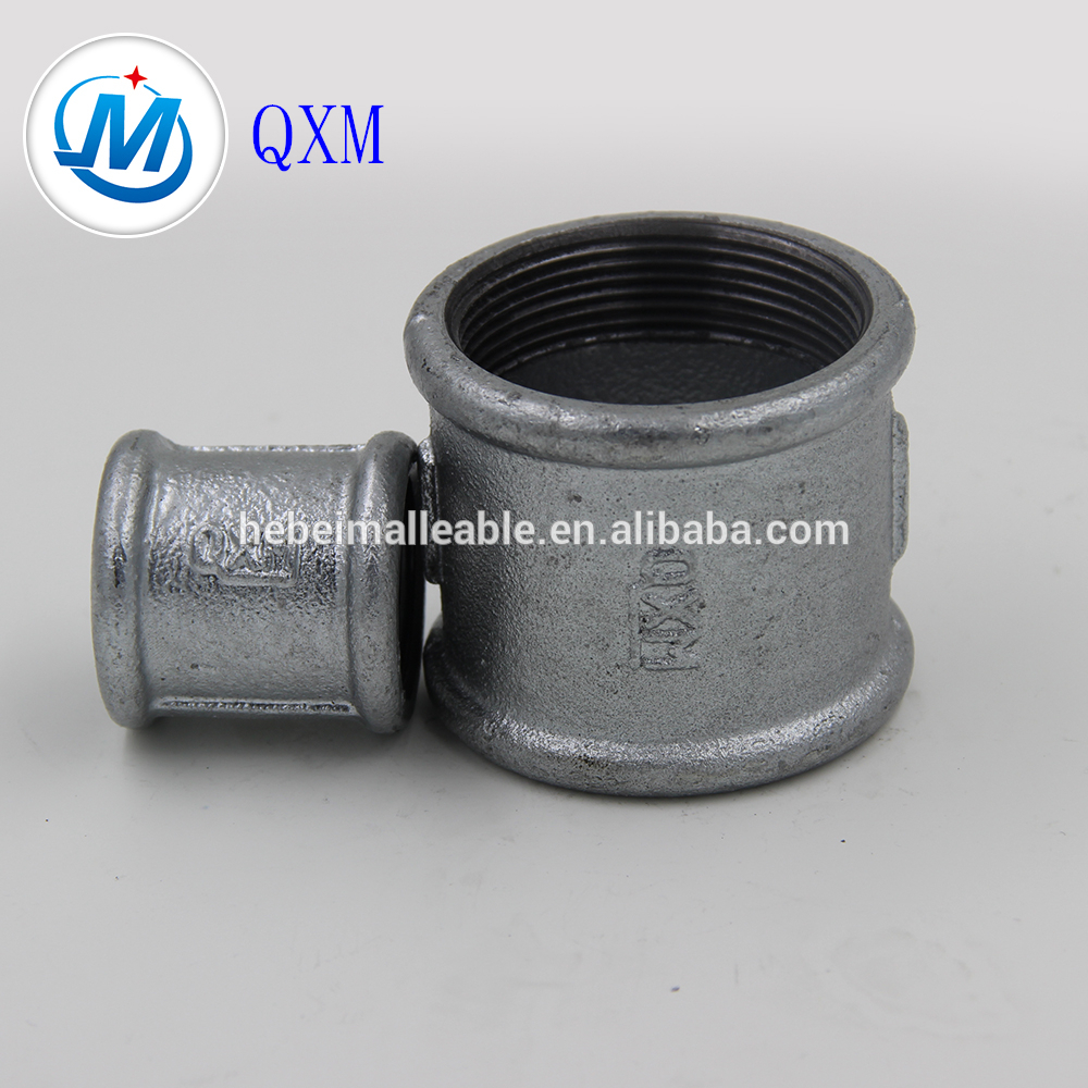 "1-1/4"" beaded cast iron pipe fitting socket"