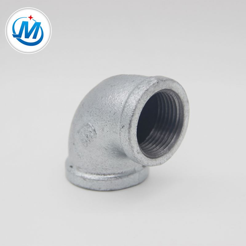 OEM China Connconduit Pipe Fitting - malleable iron pipe fittings beaded elbow – Jinmai Casting