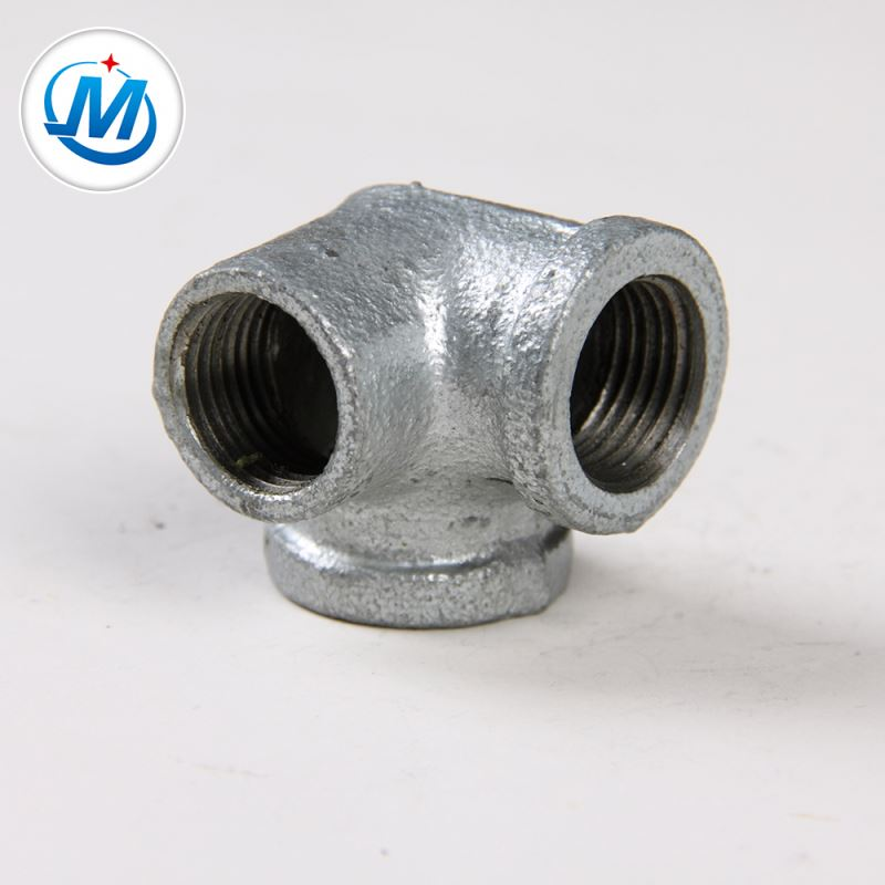 Attractive In Price, Din GI Galvanized Malleable Iron Pipe Fitting Sideoutlet Elbow