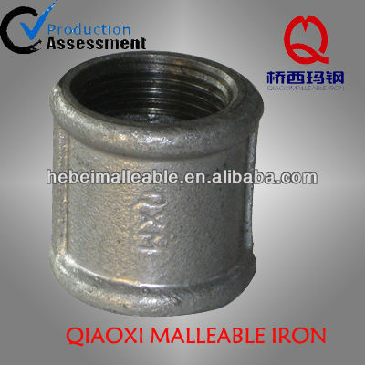 professional factory for Gi Elbow Pipe Fittings - black beaded carbon steel pipe sockets ,coupling – Jinmai Casting