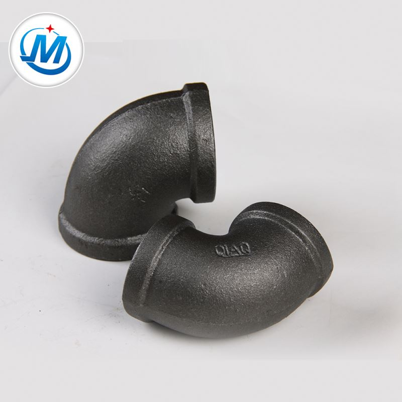 Factory Cheap Hot 38mm Screw Cap -<br />  QXM,QIAO,CWD Brand More Than 20 Years History Black Surface Elbow Pipe Fittings - Jinmai Casting