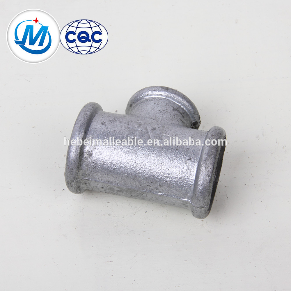 OEM/ODM Supplier 3 Way Elbow Pipe Fittings - 3/4 inch cast black iron fitting tee malleable iron fitting – Jinmai Casting