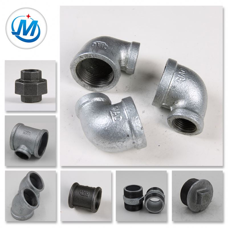 Precision Banded Malleable Cast Iron Pipe Fittings Design
