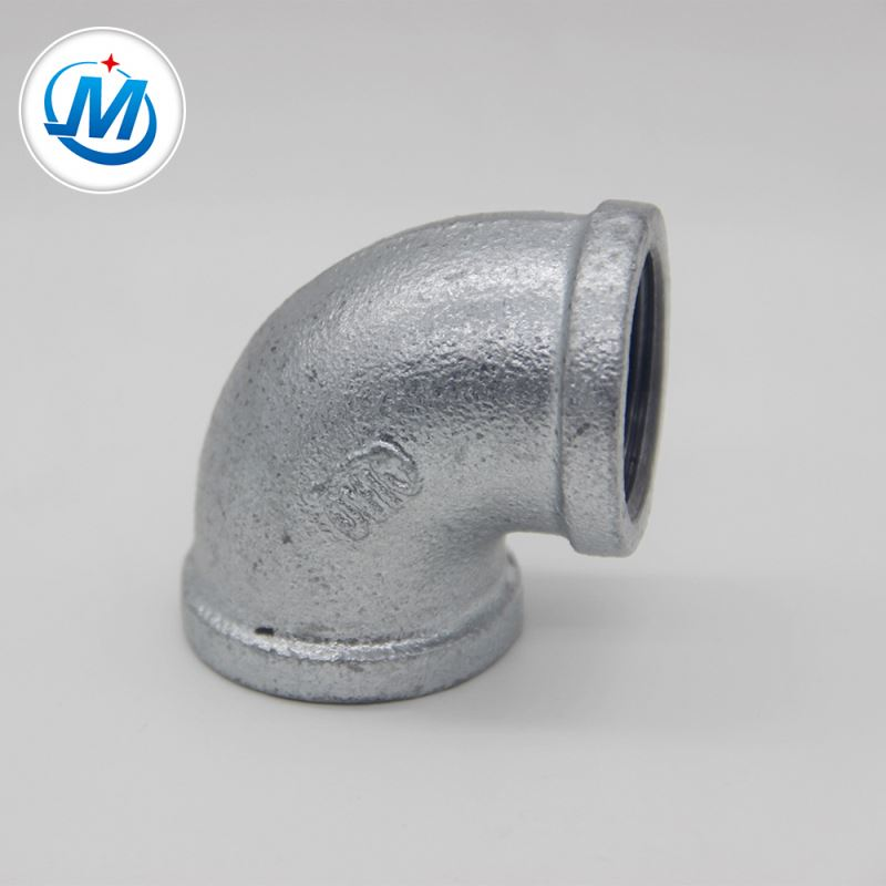 OEM/ODM Supplier Pipe Connector - malleable iron pipe fitting banded elbow – Jinmai Casting