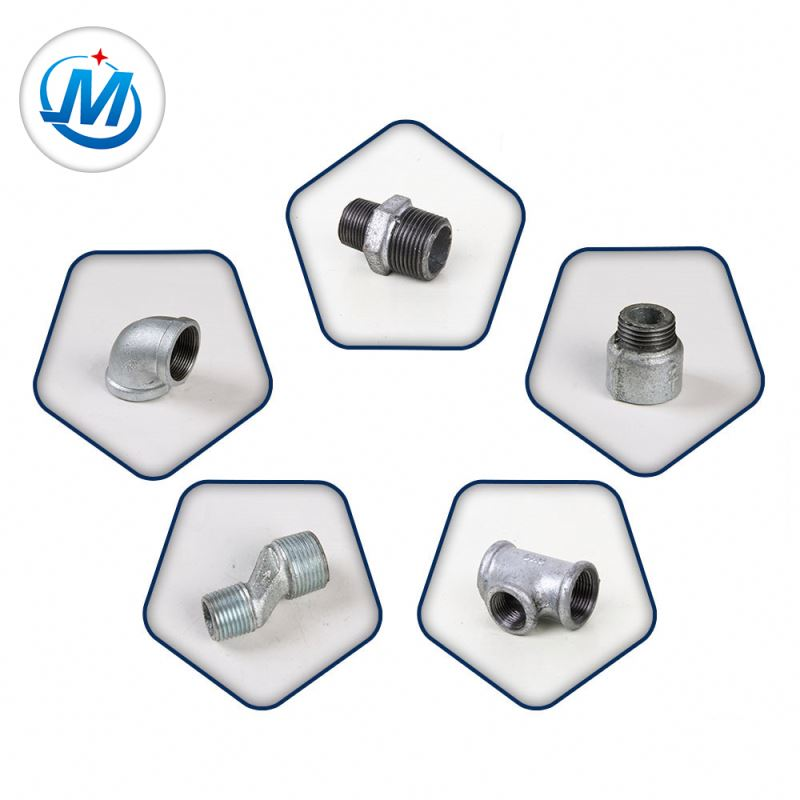 Light Type DIN Threaded Bends Malleable Iron Pipe Fittings