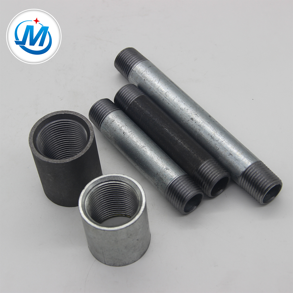 OEM/ODM Manufacturer 2 Inch Pvc Pipe Fittings - Double Thread Npt Thread Pipe Nipple – Jinmai Casting detail pictures