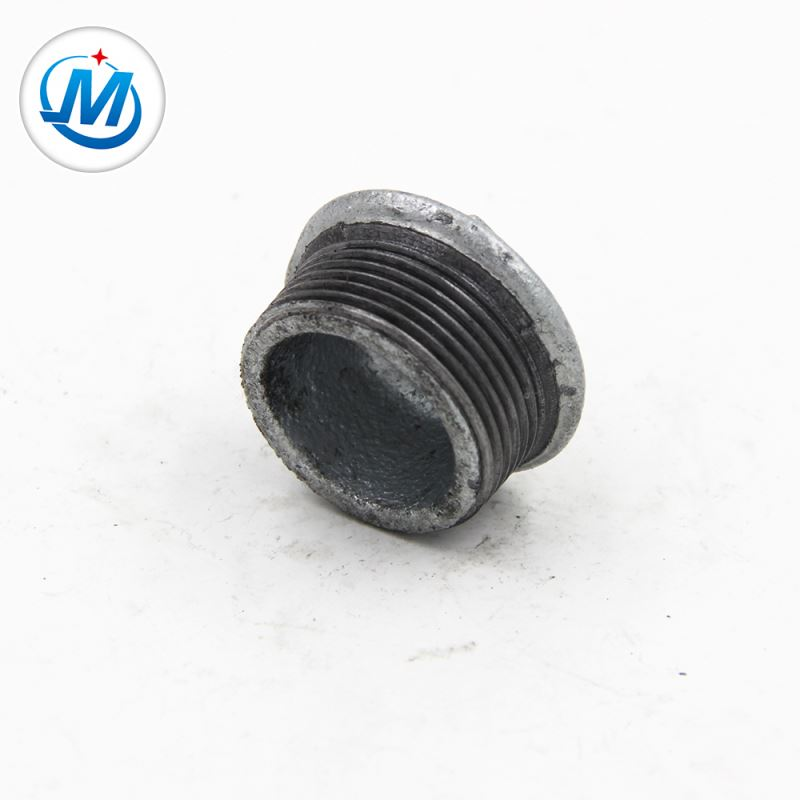 New Delivery for Threaded Nipple - Passed BV Test Connect Coal Use Square Head Galvanized Iron Male Plug – Jinmai Casting detail pictures