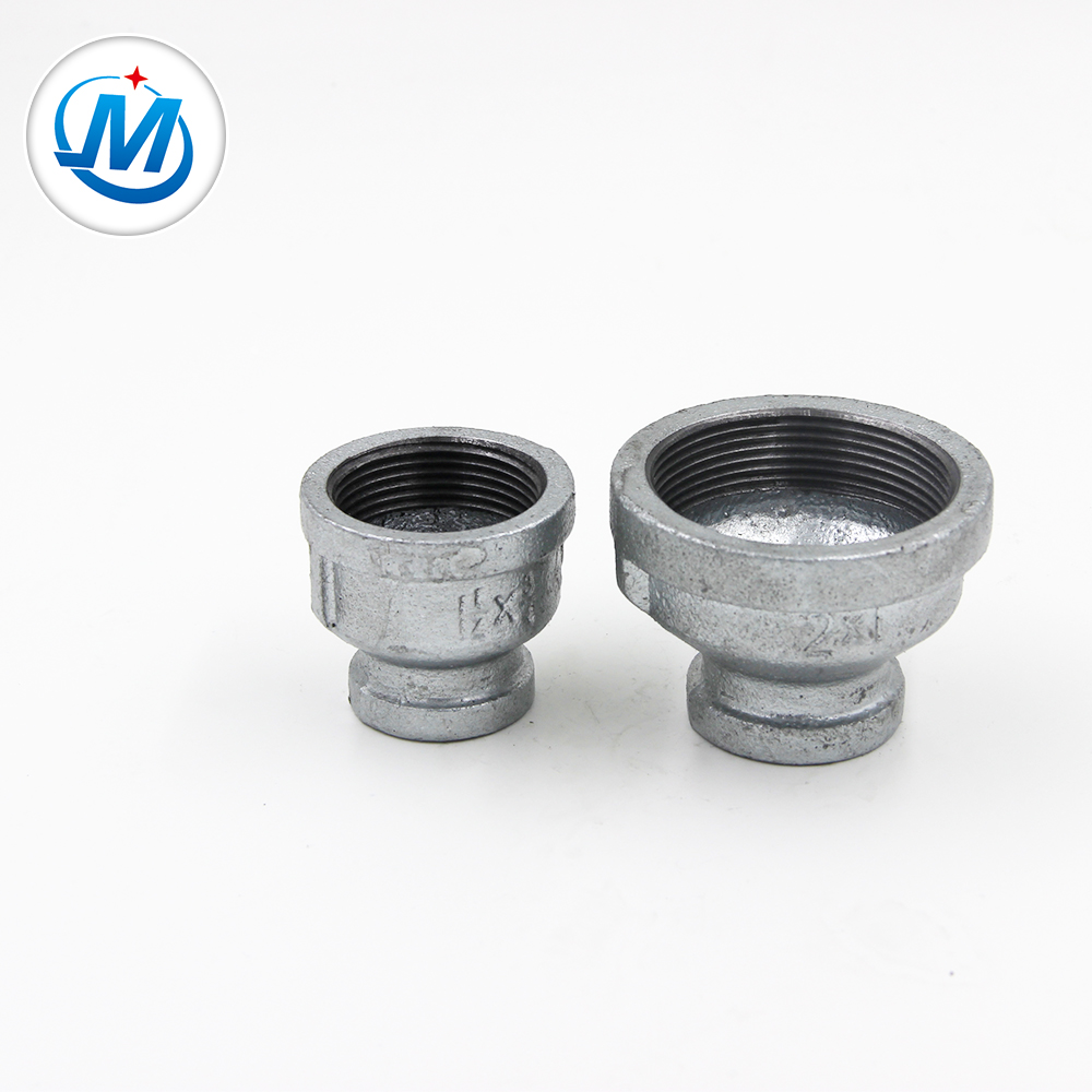 China Manufacturer for Carbon Steel Two Balls Joint - galvanized malleable iron pipe fitting beaded reducing sockets – Jinmai Casting