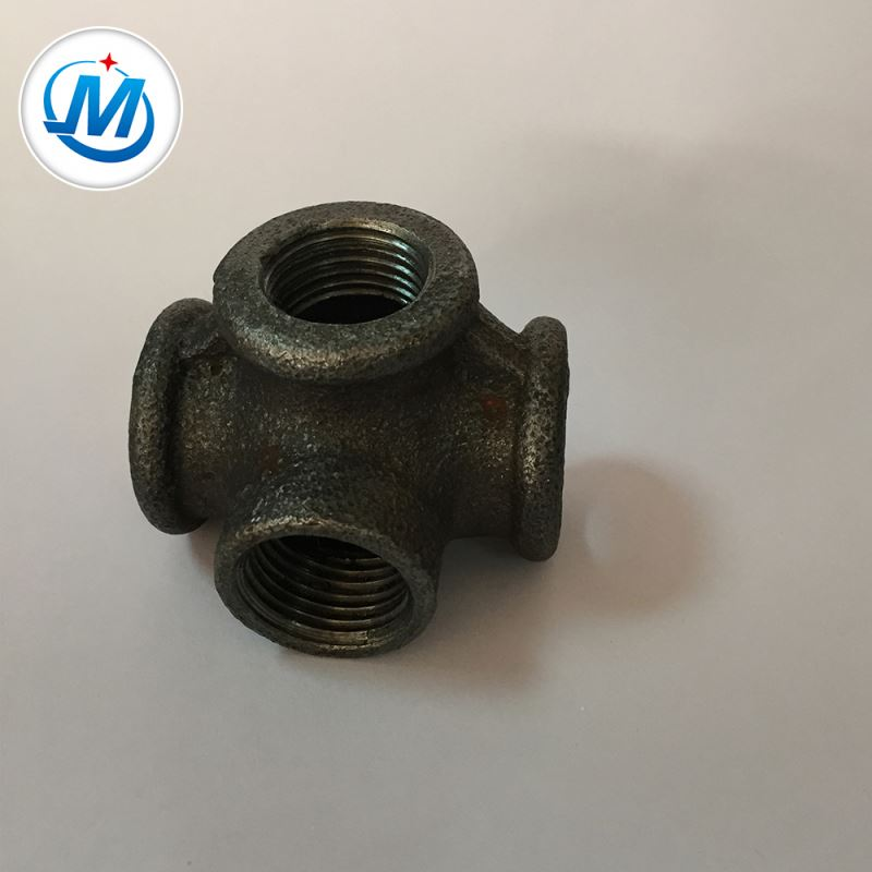Wholesale Price China Cast Iron Fitting - Passed ISO 9001 Test Water Supply Hot Dipped Galvanized Pipe Side Outlet Tee – Jinmai Casting