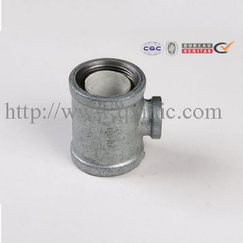 "Pipe Fitting 3""NPT Electrical Galvanized Lining Plastic Tee"