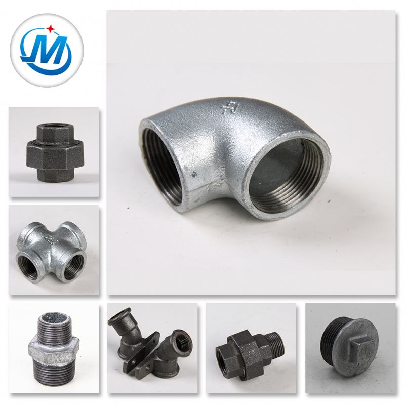 g.i. galvanized malleable iron cast iron pipe fittings