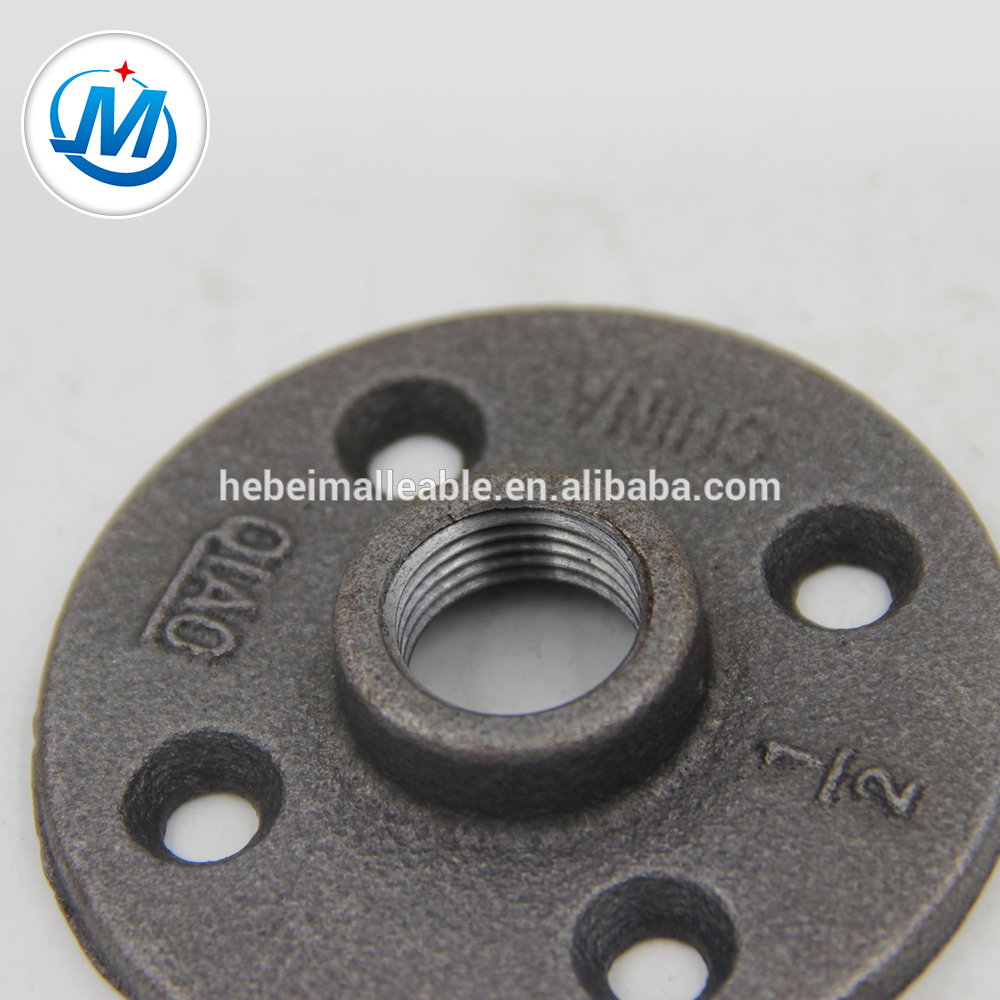 galvanized/black malleable iron pipe fitting flange