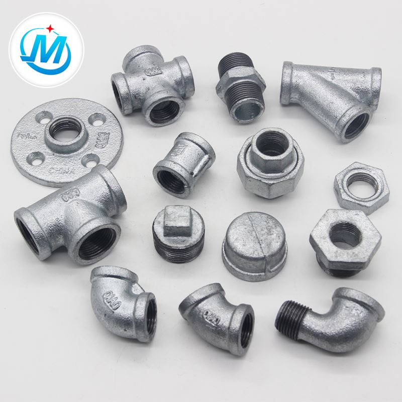 china din standard gi malleable iron pipe fittings