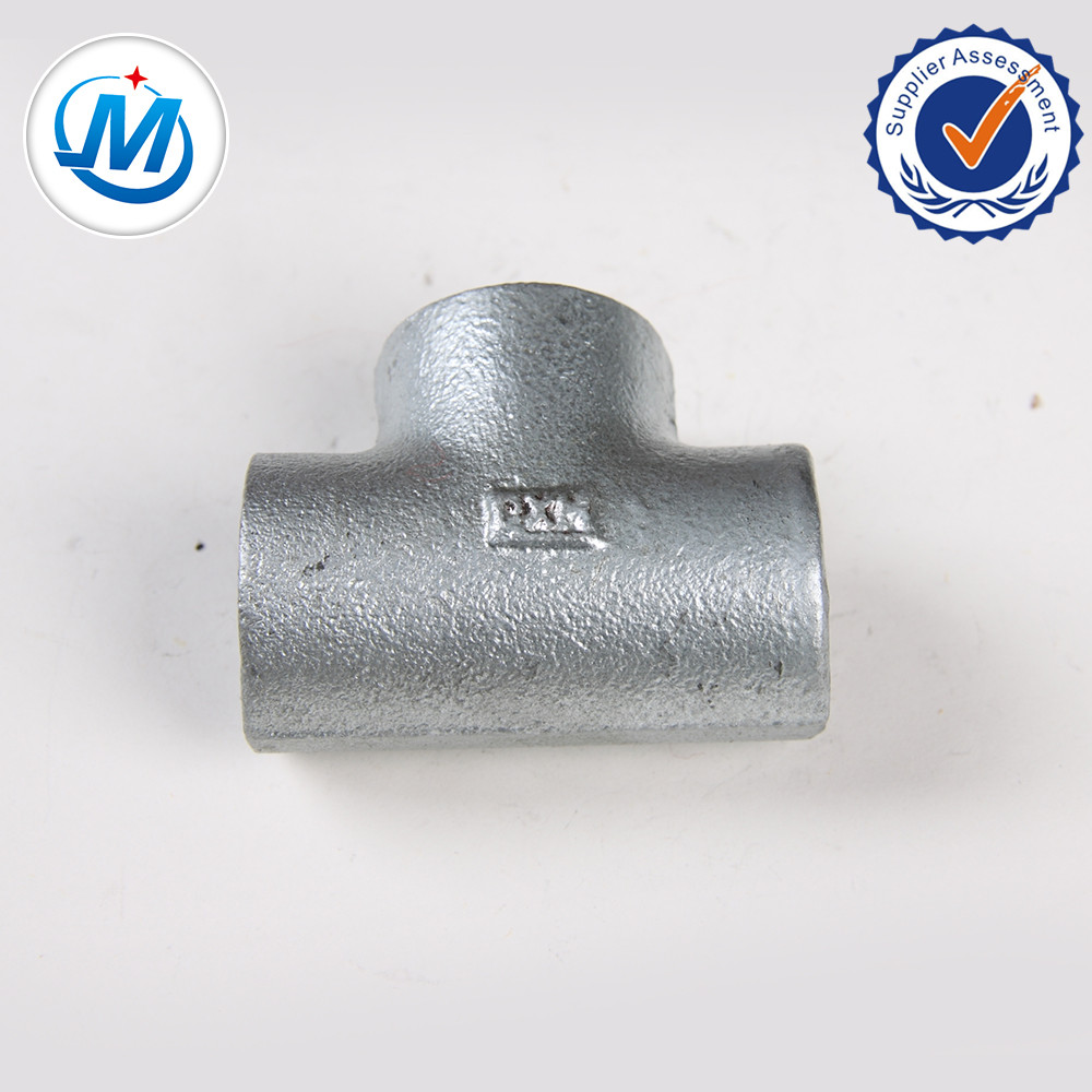 Bottom price Pipe Fitting Spade Blind Flange - Plain Malleable Iron Pipe Fittings tee – Jinmai Casting
