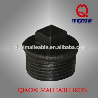 """OEM/ODM Supplier Malleable Cast Iron Pipe Fitting Cross - 2-1/2"""" ANSI pipe fitting beaded Plug – Jinmai Casting"""
