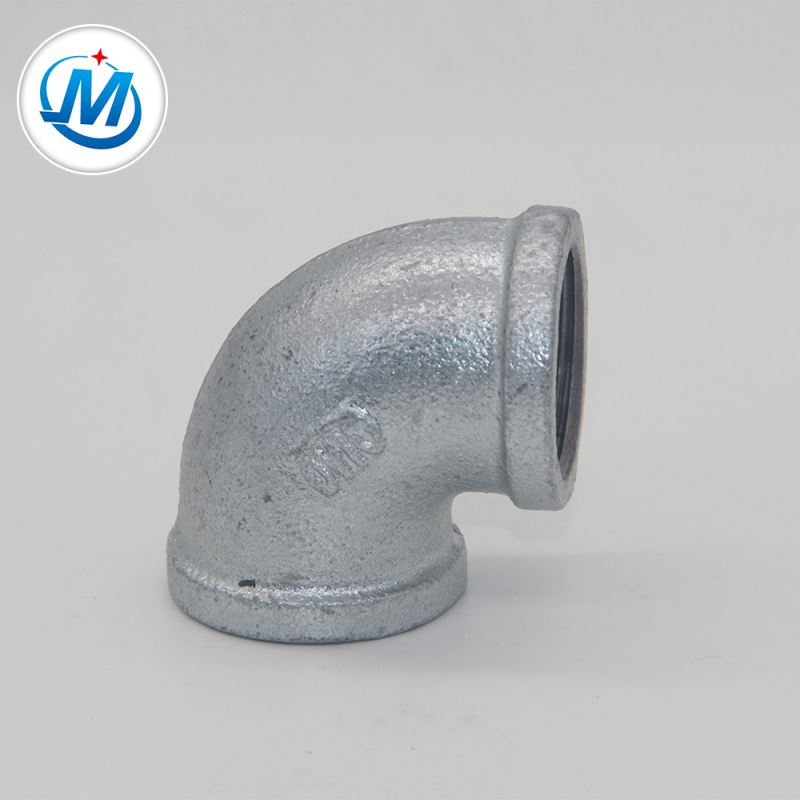 Discount wholesale Aluminium Pipe Fittings - malleable iron galvanized elbow pipe – Jinmai Casting