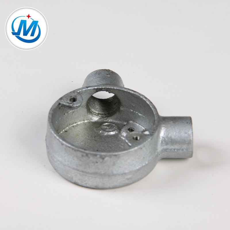 Passed BV Test For Water Connect Malleable Iron Junction Box 2 Way