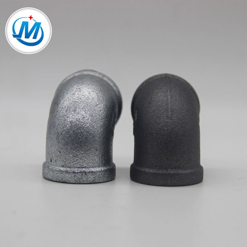 Fast delivery Long Pre-cut Black Steel Pipe - thread 90 degree pipe elbow fittings – Jinmai Casting