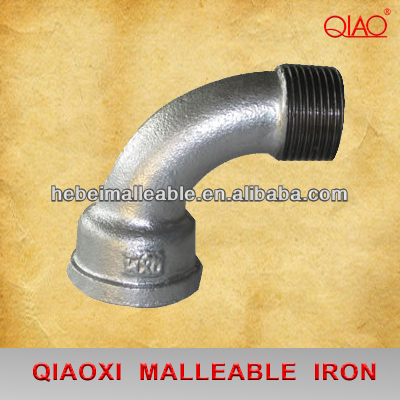 Online Exporter High Pressure Plastic Pipe Fittings - hardware items plumbing hot dipped galvanized cast iron pipe fitting banded M&F bends – Jinmai Casting
