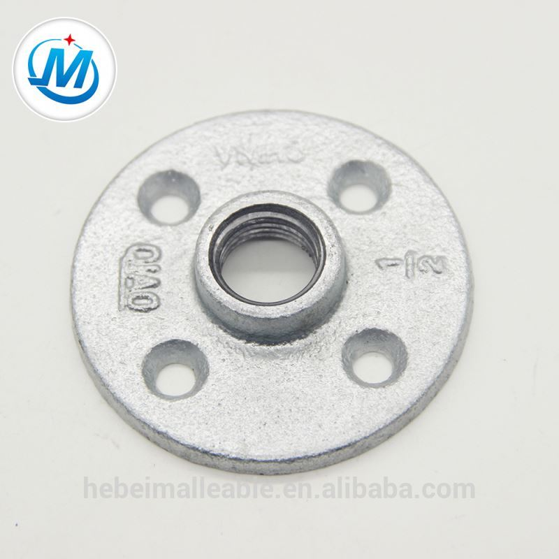 wholesale galvanized 3/4 pipe black floor flange