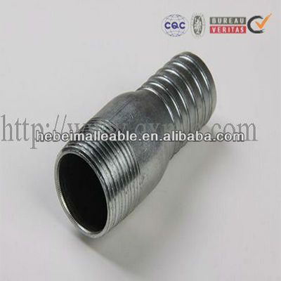 gi steel pipe fitting hose king nipple