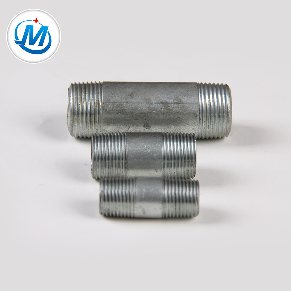 NPT Stainless Steel Pipe Ftting Full Male Connection Pipe Nipple