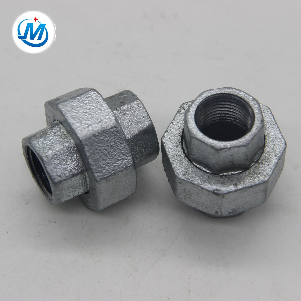 Factory Cheap Male Threaded Pipe Fitting - unik pipe fittings concial joint iron to iron union – Jinmai Casting