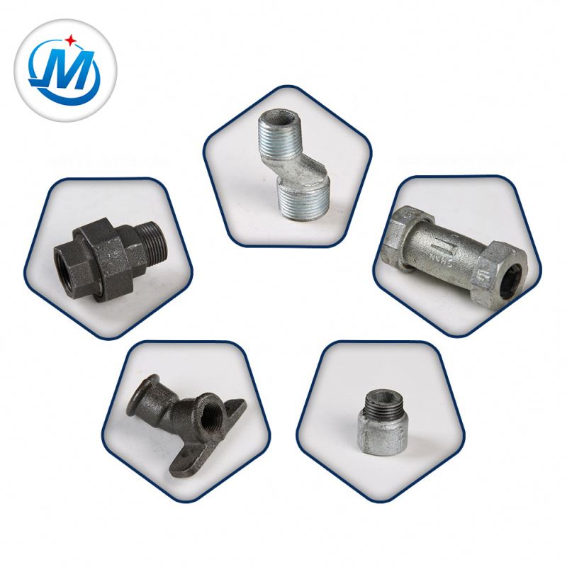 Durable Malleable Casting Iron Water Main Pipe Fittings