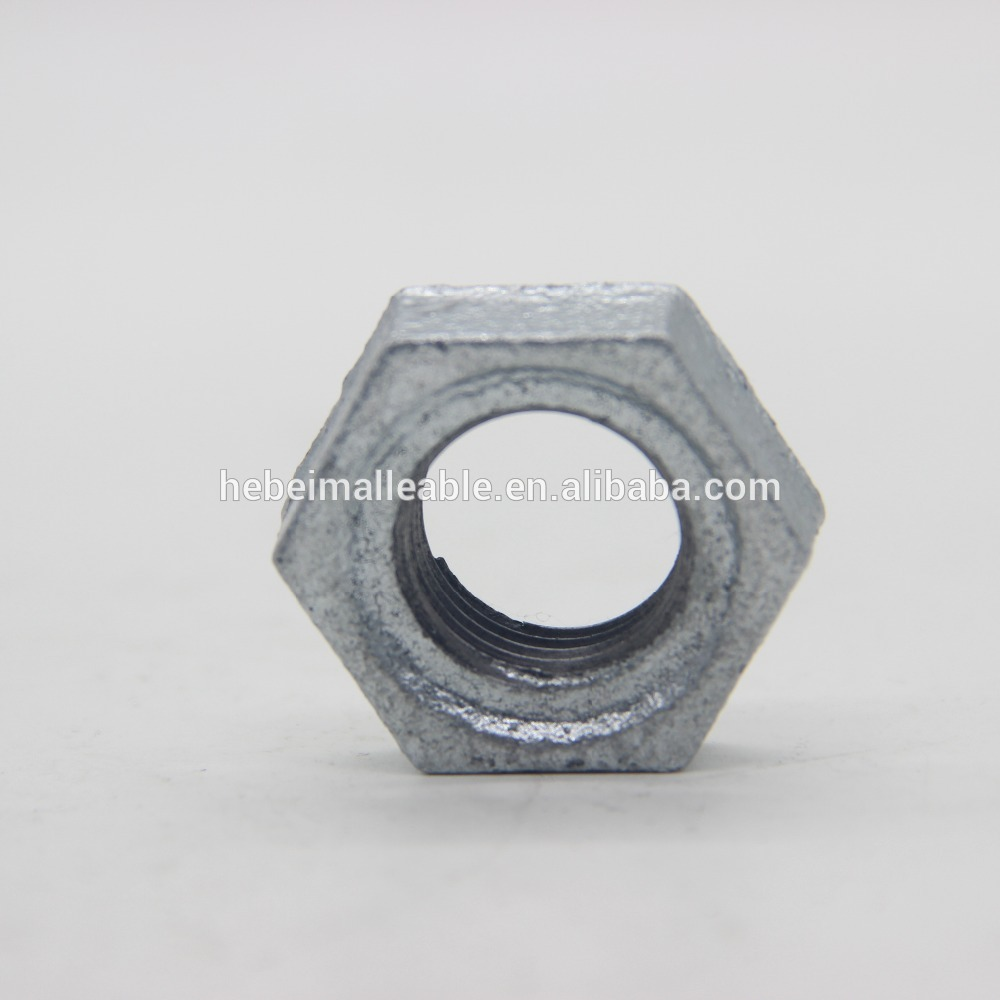 """Bottom price Pipe Fittings Bsp Stainless Steel - 1-1/4"""" malleable iron pipe fitting locknut – Jinmai Casting"""