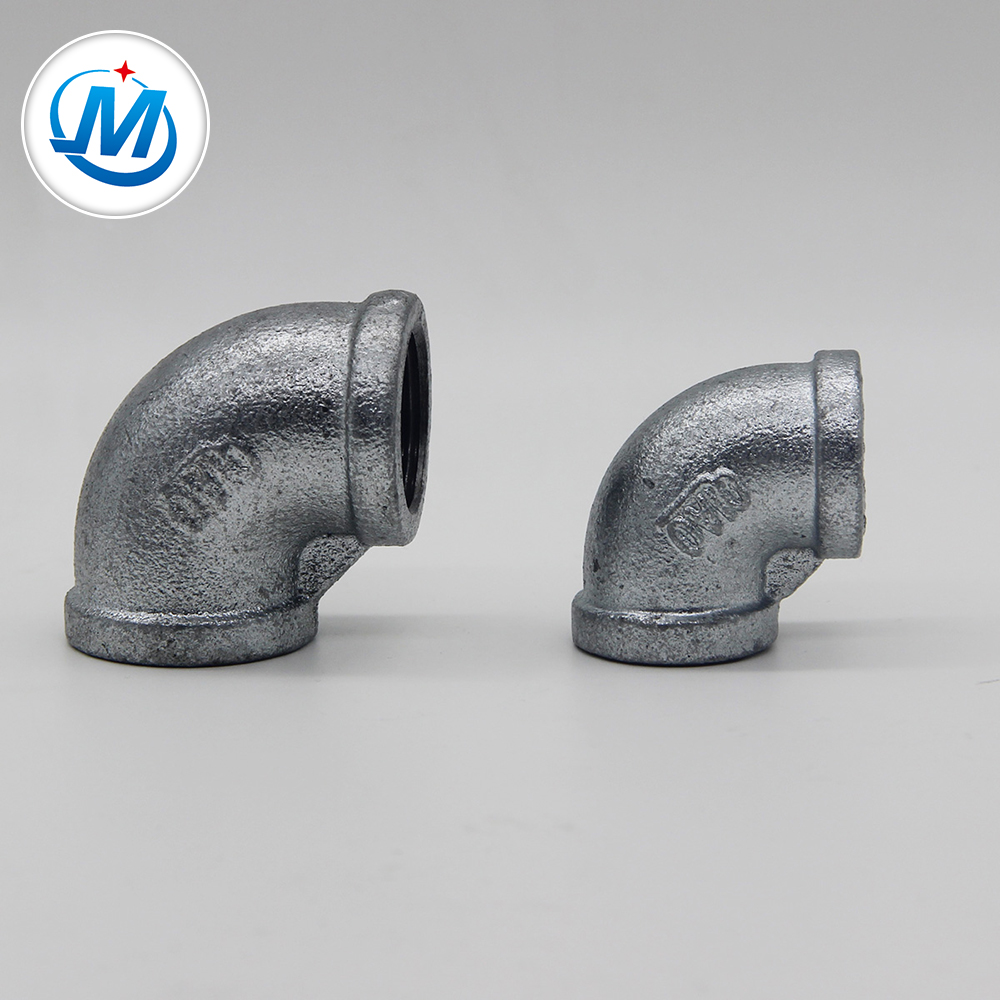 Wholesale Ductile Iron Pipes - High quality Elbow galvanized Malleable Cast Iron female threaded pipe fitting – Jinmai Casting
