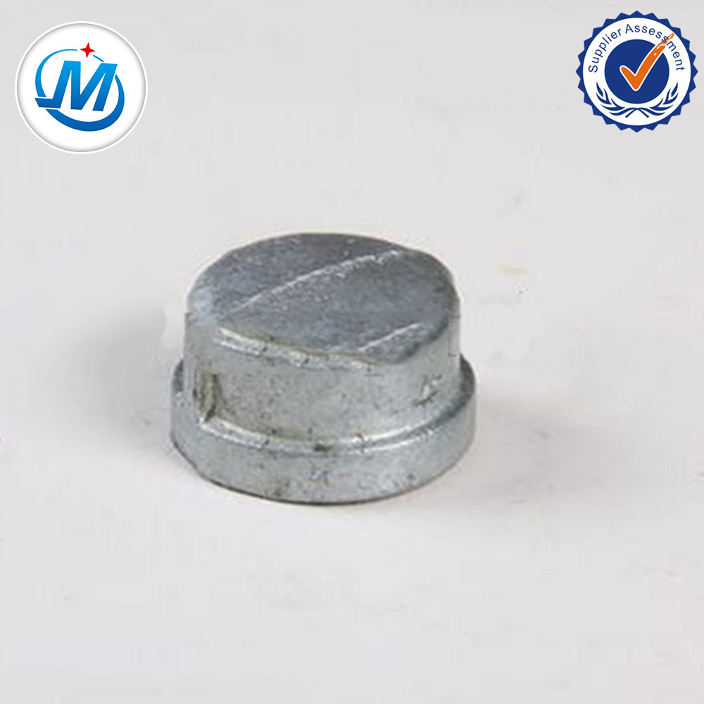 Excellent quality Pvc Male Thread Union - Sell All Over the World Quality Controlling Strictly Gi Malleable Iron Pipe Fitting Cap – Jinmai Casting
