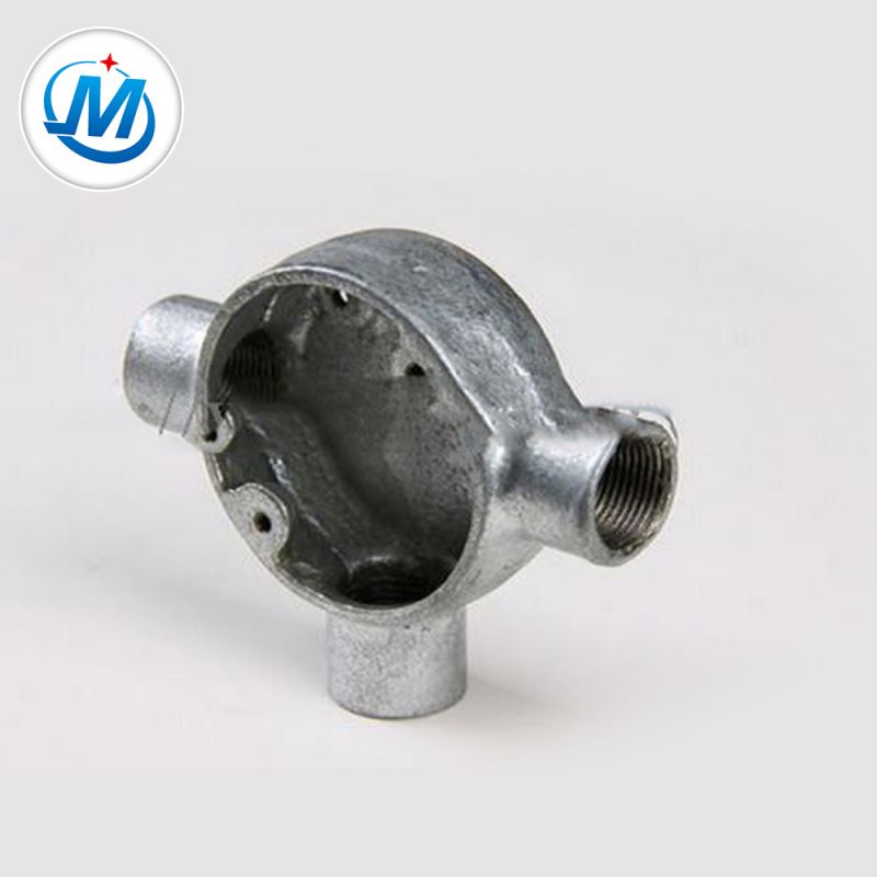 Passed ISO 9001 Test For Water Connect Malleable Iron Galvanized Metal Junction Box