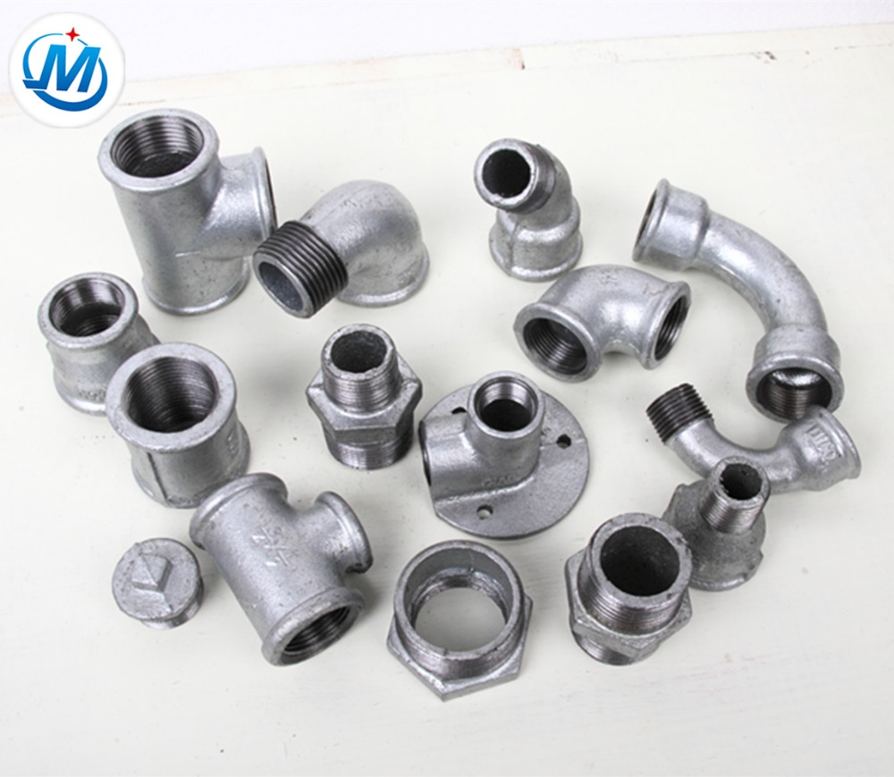 Malleable Iron Pipe Fitting Casting Parts Oem With Top Quality