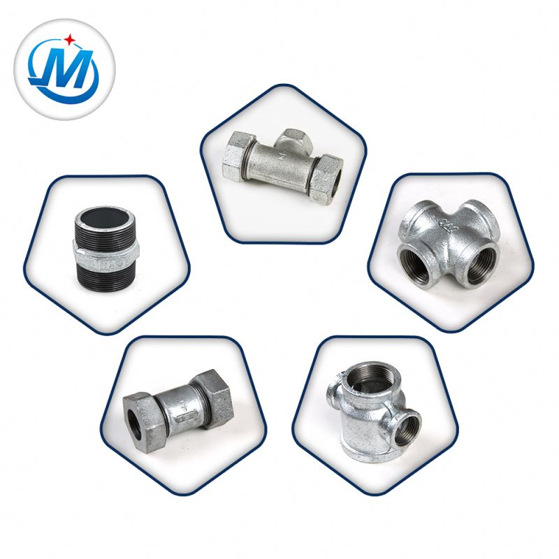 OEM/ODM Manufacturer Epdm Double Sphere Rubber Expansion Joint - Dismantling Joint g.i Water Malleable Cast Iron Pipe Fittings – Jinmai Casting