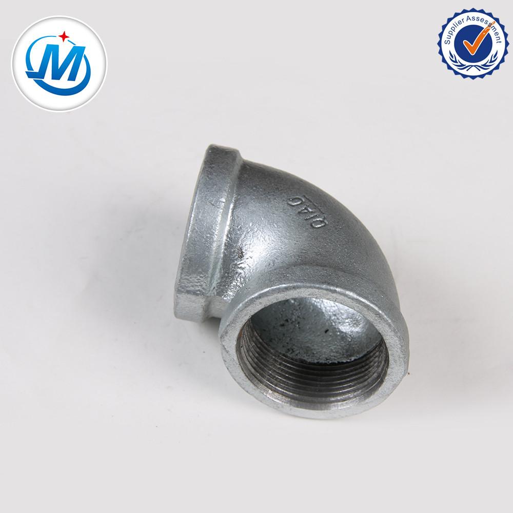 Factory wholesale Electrical Conduit Fittings Zinc Coupling - Plumbing parts names image building hardware elbow – Jinmai Casting detail pictures
