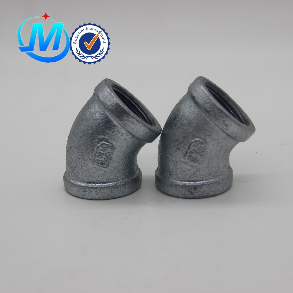 Wholesale Screw Fittings For Plastic Pipe - All size available pipe and fittings top supplier cast iron fitting – Jinmai Casting