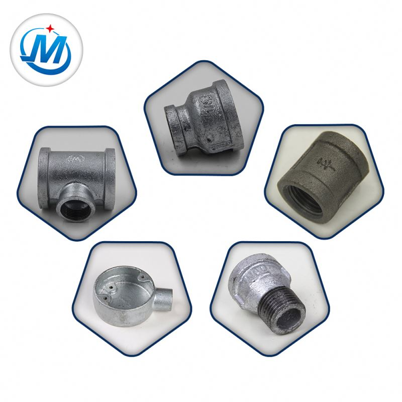 high quality american standard npt hot dipped galvanized malleable iron pipe fittings
