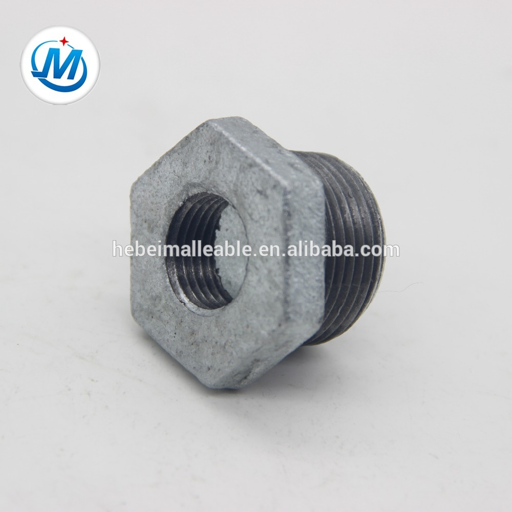 gi pipe fitting names and parts bushing